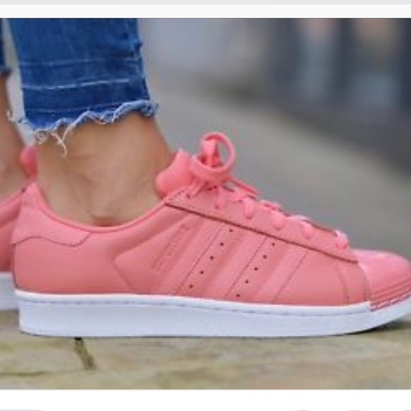 48ebf623970 Adidas Superstar 80s Tactile Rose Leather